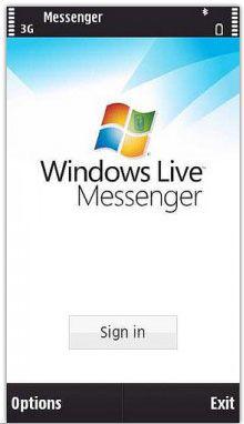 دانلود مسنجر MSN Windows Live Messenger v6.50 برای سری S60v5