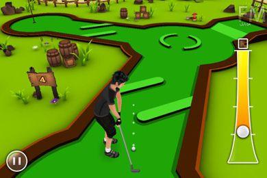 بازی گلف Mini Golf Game 3D برای گوشی های آیفون و آیپاد