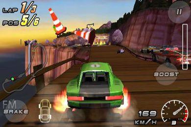 بازی موبایل اتومبیل رانی Raging Thunder 2 برای گوشی های آندروید