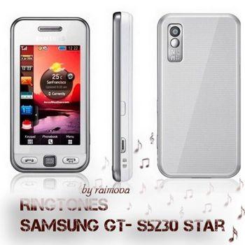 زنگ های فابریک گوشی Ringtones Samsung GT-S5230 Star