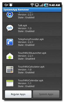 دانلود نرم افزار SystemApp Remover v4.18 – نرم افزار آندروید