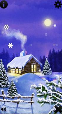 نرم افزار برف کریسمس Christmas Snow Scenes v1.00 برای سیمبیان ۳