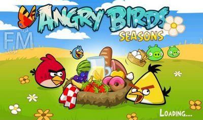 دانلود بازی کم حجم کامپیوتر پرندگان عصبانی Angry Birds Seasons v1.5.1