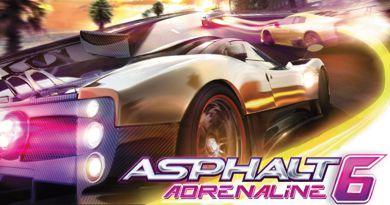 بازی موبایل بسیار زیبا و معروف Asphalt 6: Adrenaline به صورت جاوا