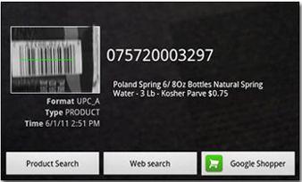 دانلود نرم افزار خواندن بارکد ها با Barcode Scanner v4.0 برای آندروید