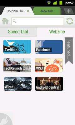 دانلود مرورگر قدرتمند Dolphin Browser HD v7.4.0 Beta – آندروید