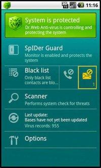 دانلود آنتی ویروس آندروید Dr.Web Anti-virus Pro v6.01.0