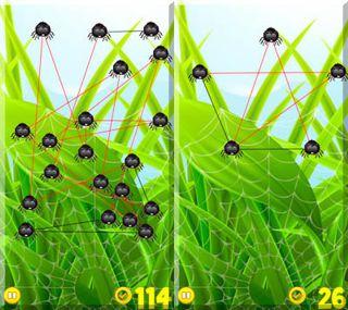 دانلود بازی جالب  Frisky Spiders برای سیمبیان ۳