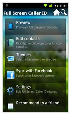 نمایش اطلاعات کامل تماس گیرنده با Full Screen Caller ID v6.4.2 – نرم افزار آندروید