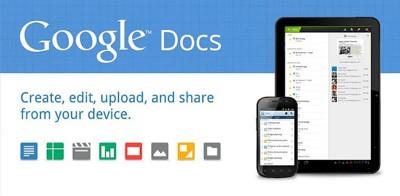 نرم افزار کاربردی نمایش و ویرایش فایل اسنادی گوگل Google Docs v1.0.54 – آندروید