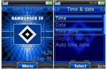 تم سونی اریکسون باشگاه هامبورگ – دانلود تم Hamburger SV