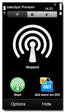 نرم افزار سیمبیان ۳ تبدیل گوشی به مودم وایرلس – JoikuSpot v3.10 – ۱۰۲۶