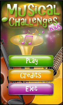 نرم افزار موسیقی Kids Musical Challenges HD v1.3.5 – آندروید