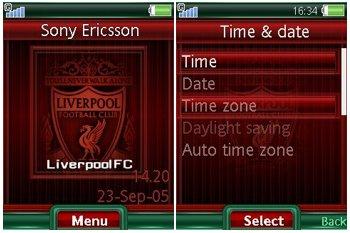 دانلود تم سونی اریکسون باشگاه لیورپول – دانلود تم سونی اریکسون Liverpool FC
