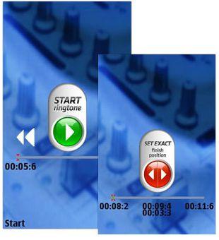 دانلود نرم افزار سیمبیان ۳ و نوکیا سری ۶۰ ویرایش ۵ – MP3 Cutter Ringtone maker