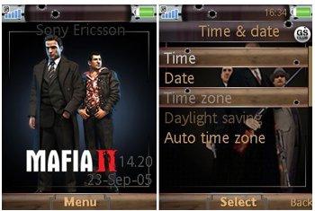 دانلود تم سونی اریکسون مافیا ۲ – دانلود تم Mafia 2