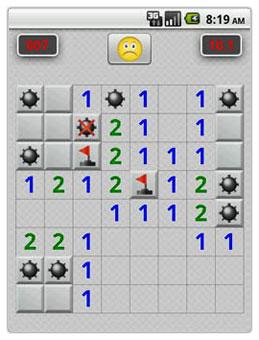بازی معروف و سرگرم کننده Minesweeper Professional v1.7 برای آندروید
