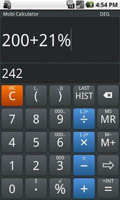 دانلود ماشین حساب مهندسی Mobi Calculator Pro CubeCalc v1.3.8 – آندروید