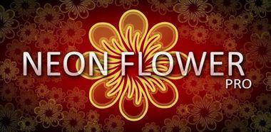 دانلود پس زمینه زنده Neon Flower Pro LWP v1.0.4 – آندروید