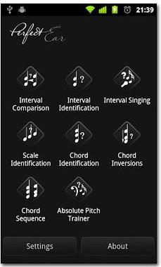 نرم افزار تقویت شنوایی موسیقیدانان با نرم افزار Perfect Ear Pro v3.2b – آندروید