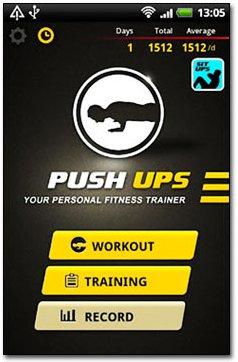 دانلود نرم افزار تمرین شنا Push Ups pro v2.57 مخصوص آندروید