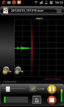 ضبط با کیفیت صدا با RecForge Pro :Audio Recorder v2.0.11 – آندروید