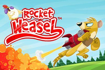 دانلود بازی زیبا و سرگرم کننده Rocket Weasel v.1.0 – آندروید