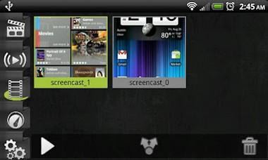 دانلود نرم افزار ضبط ویدیو از صفحه نمایش Screencast Video Recorder 3.2a – اندروید