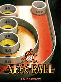 بازی موبایل سرگرم کننده SkeeBall به صورت جاوا