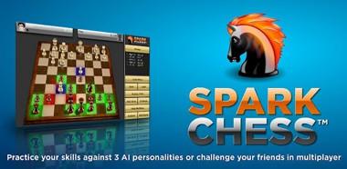 دانلود بازی فکری شطرنج SparkChess HD v5.2.2 – آندروید