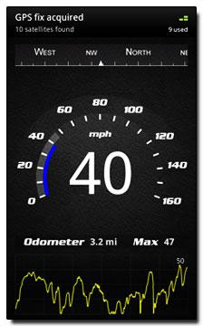 نرم افزار سرعت سنج دقیق Speed View Pro v2.7 برای گوشی های آندروید