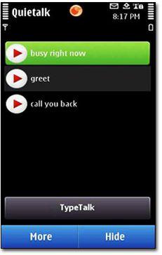 دانلود منشی تلفنی نوکیا Telekonnectors Quietalk برای سیمبیان ۳