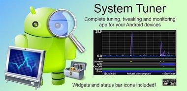 دانلود نرم افزار کاربردی مشاهده وضعیت System Tuner Pro v1.5.2 – آندروید