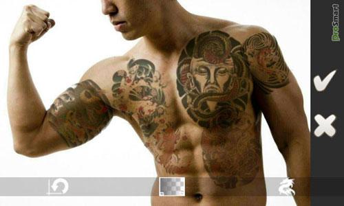 نرم افزار قرار دادن افکت های تتو TattooCam 1.1.0 بر روی عکس – آندروید