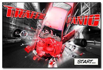 دانلود بازی فوق العاده کنترل چراغ های راهنمایی Traffic Panic 3D v1.4 برای آندروید