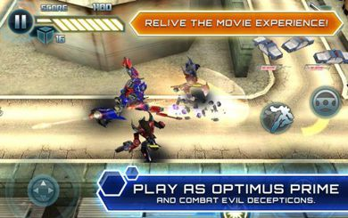 دانلود بازی موبایل Symbian^3 : Transformers: Dark of the Moon HD