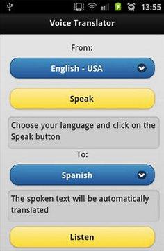 دانلود دیکشنری انگلیسی به فارسی Voice Translator Pro v1.3 – نرم افزار آندروید