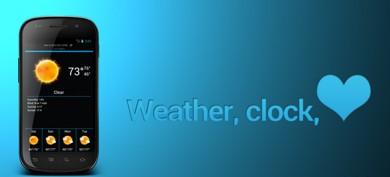 دانلود نرم افزار پیش بینی وضع هوا Weatherlove v0.8.7  – آندروید