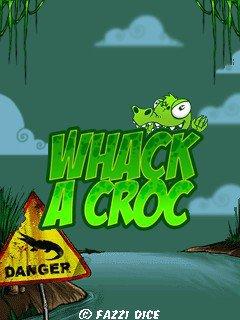 دانلود بازی بسیار زیبا Whack A Croc با فرمت جاوا برای موبایل