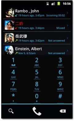 نرم افزار شماره گیری و تماس حرفه ای با exDialer Android v86 – آندروید
