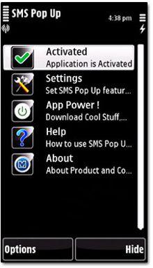 نمایش خودکار پیامک های دریافتی با Aims Migital SMS Pop Up v2.00 – نوکیا