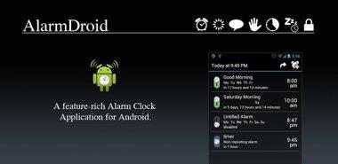 دانلود برنامه Alarm موبایل پیشرفته AlarmDroid Pro v1.12.5 – اندروید