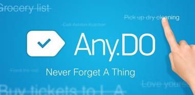 دانلود نرم افزار کاربردی Any.DO To Do List | Task List 2.21 – اندروید