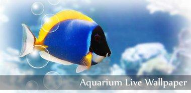 دانلود والپیپر لایو آکواریوم Aquarium Live Wallpaper 3.1 – اندروید