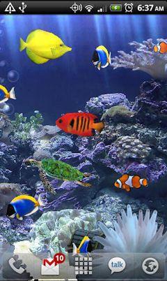 پس زمینه زنده آکواریوم Aquarium Live Wallpaper v3.0 – اندروید
