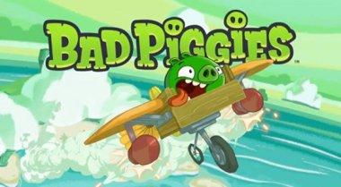 دانلود بازی کامپیوتر سرگرم کننده و کم حجم Bad Piggies 1.1.0