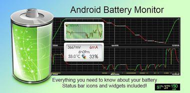 نرم افزار مانیتورینگ باتری با Battery Monitor Widget Pro v2.6.4 – اندروید