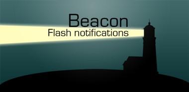 دانلود نرم افزار کاربردی Beacon LED Flash notification v3.0 –  اندروید