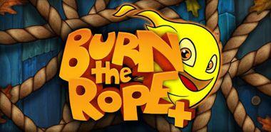 دانلود بازی فکری و سرگرم کننده Burn the Rope+ v1.2.20–اندروید