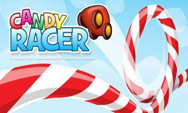 دانلود بازی فوق العاده زیبا و جالب Candy Racer مخصوص اندروید
